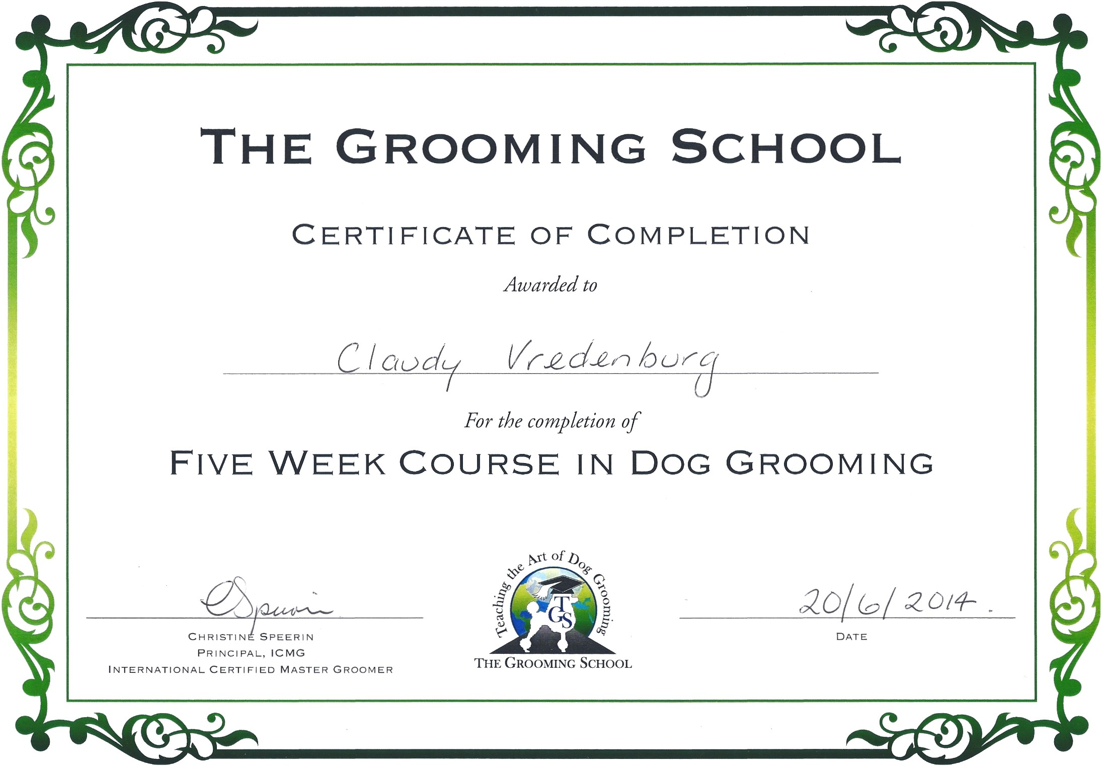 Dog Grooming Certification