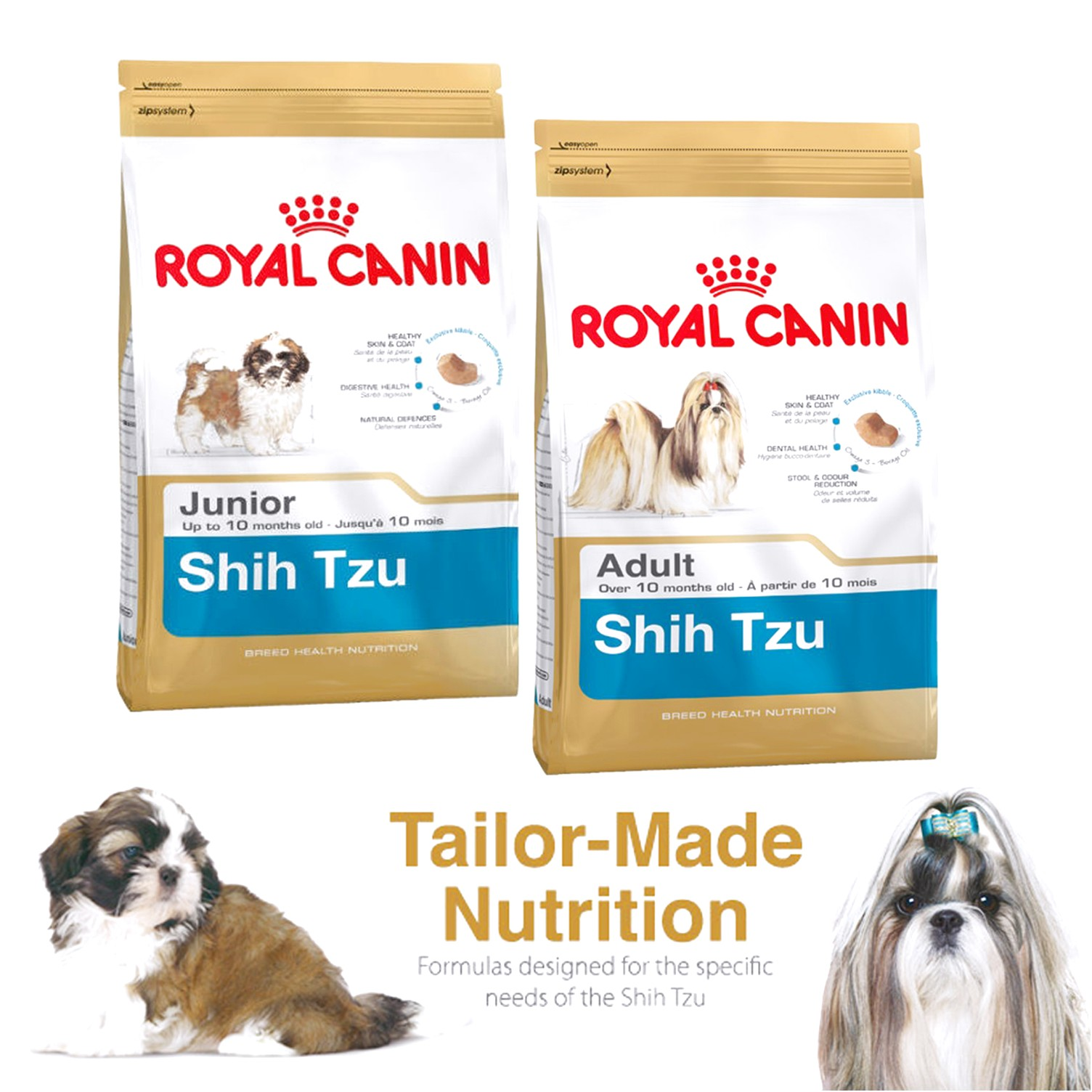 a good dog food for shih tzus