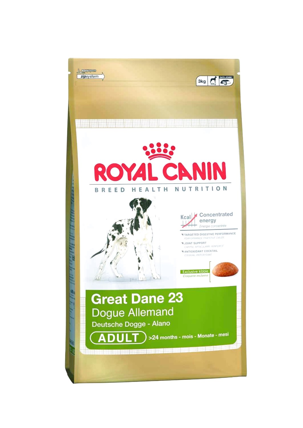 best brand dog food for great dane puppy
