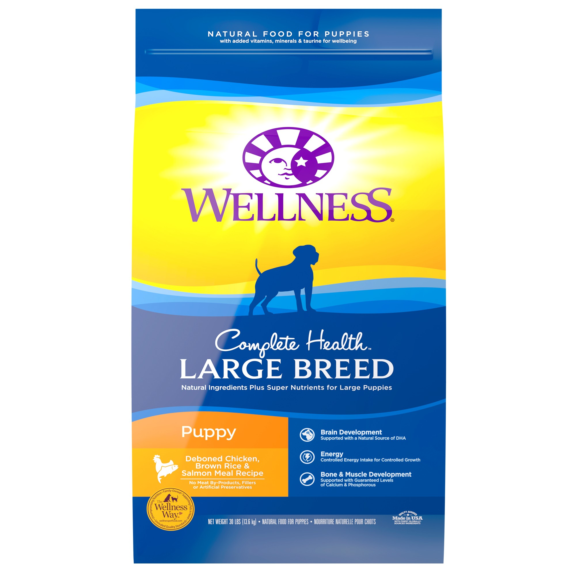 best canned dog food for large breed puppies