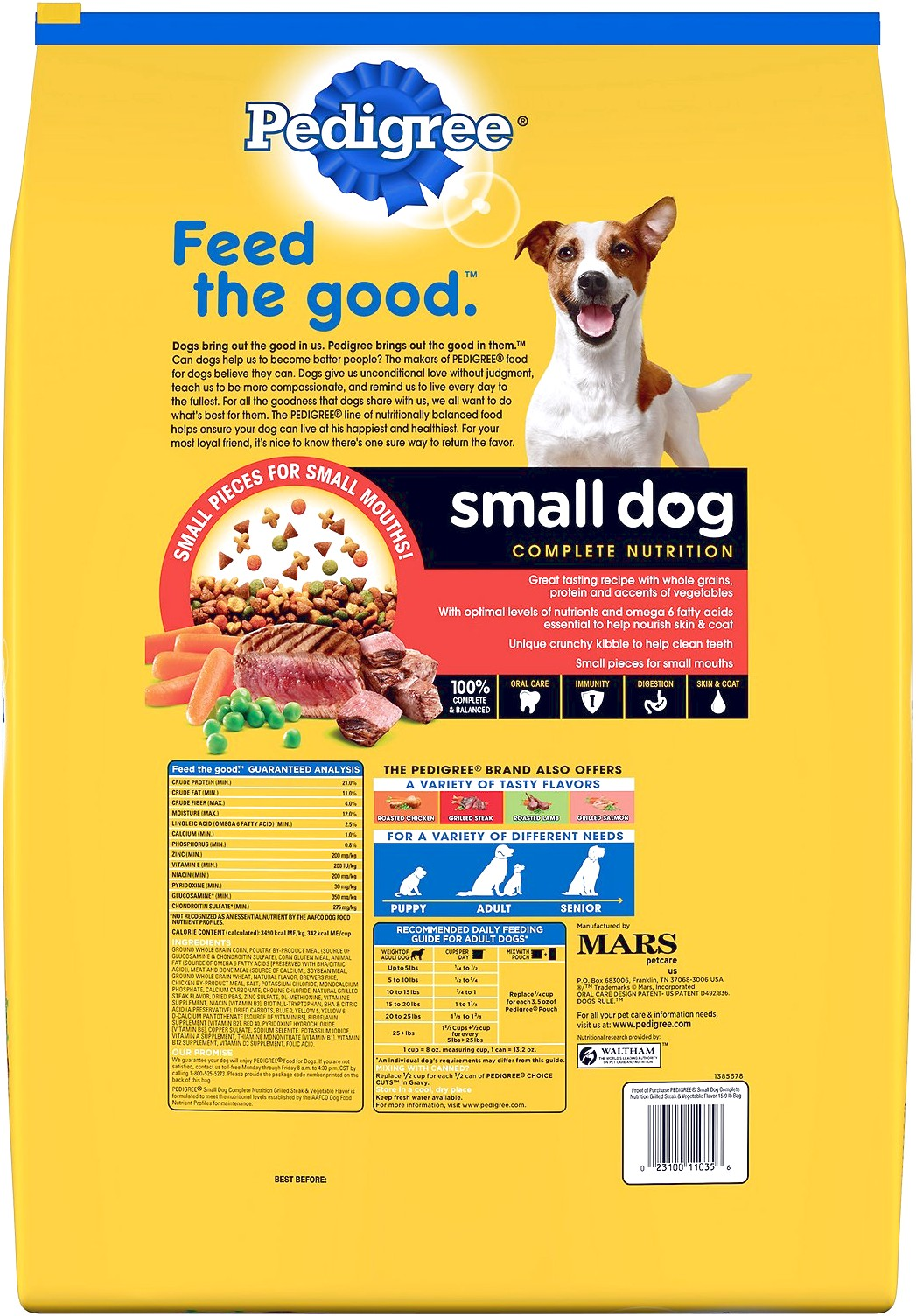 best quality dog food for small breeds