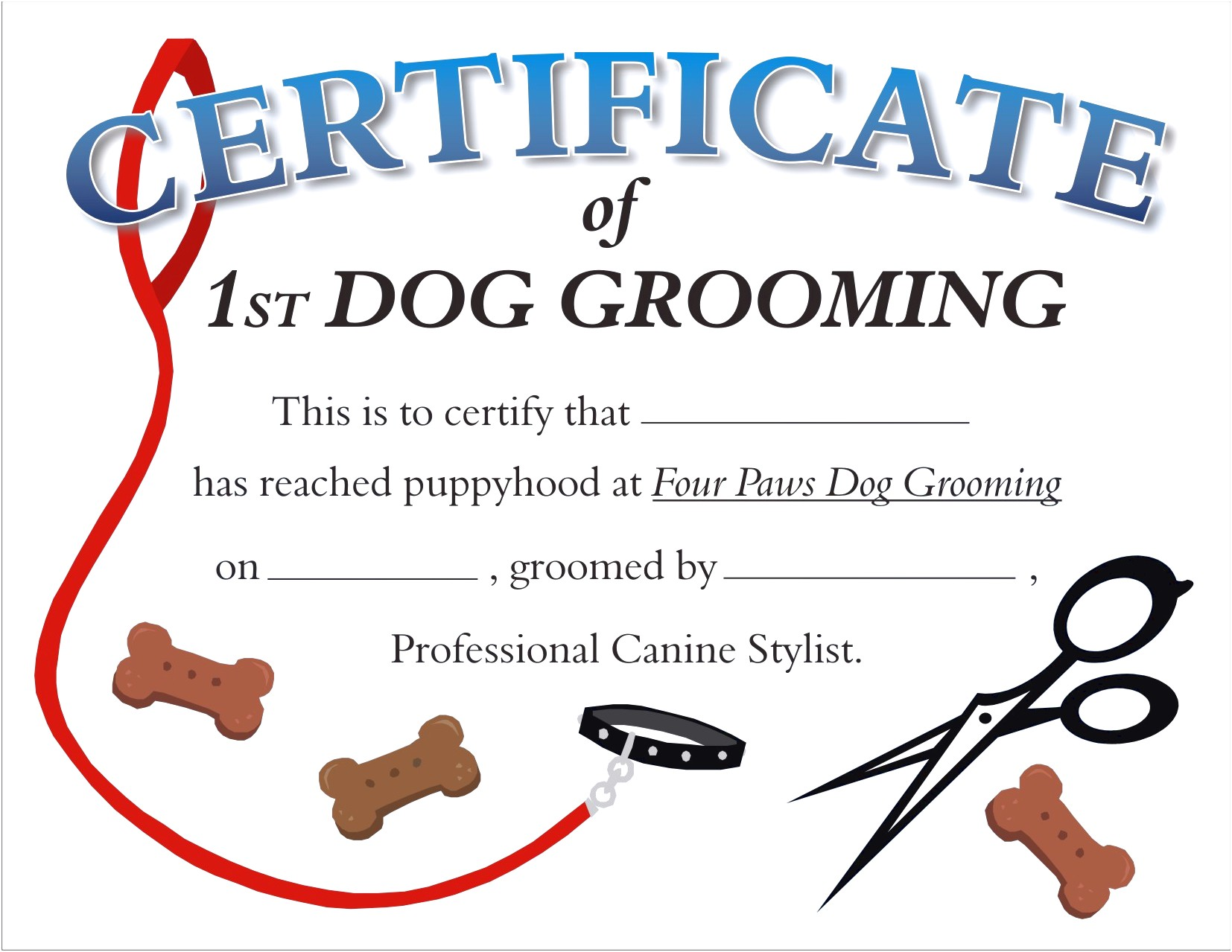 dog grooming certification near me