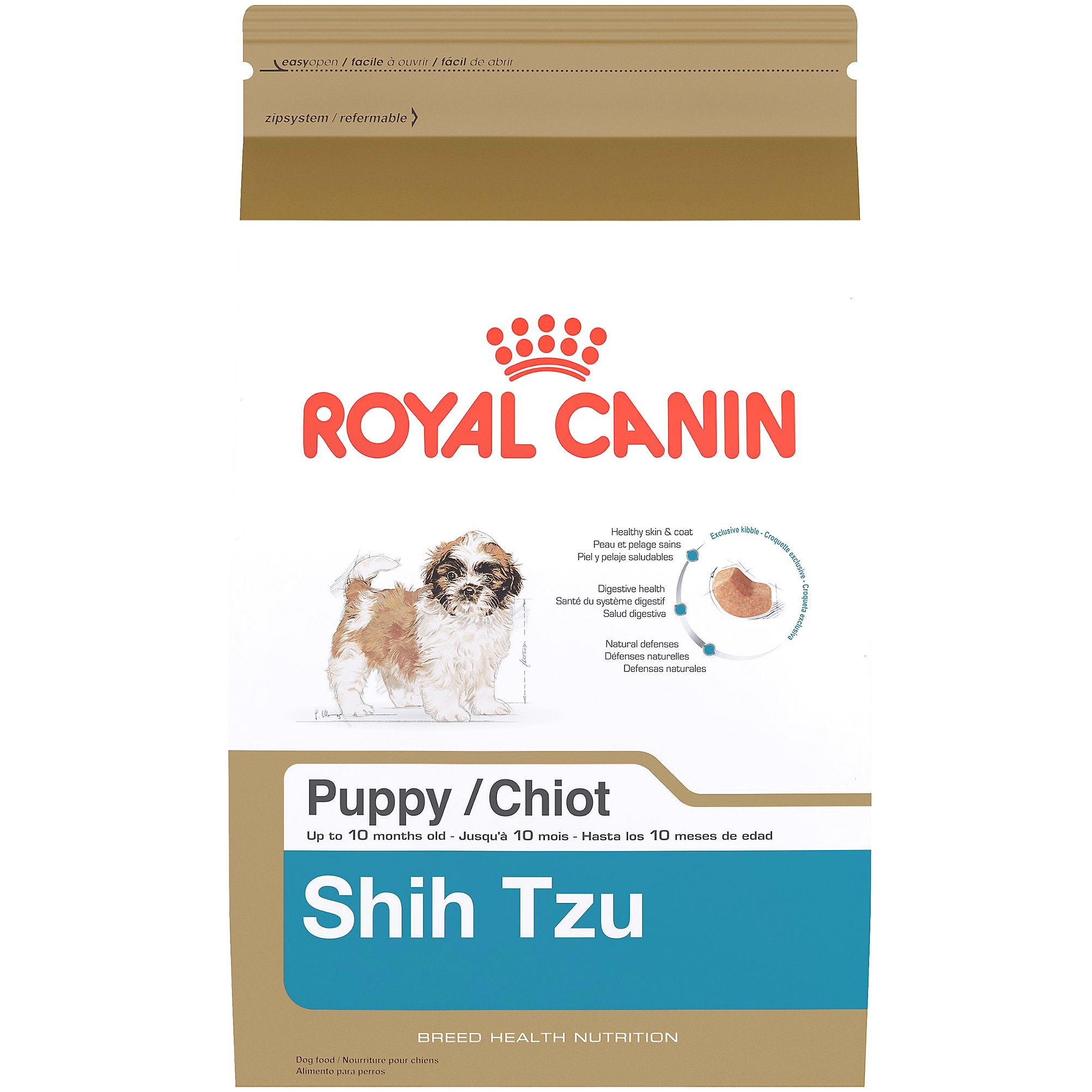 foods for shih tzu puppies