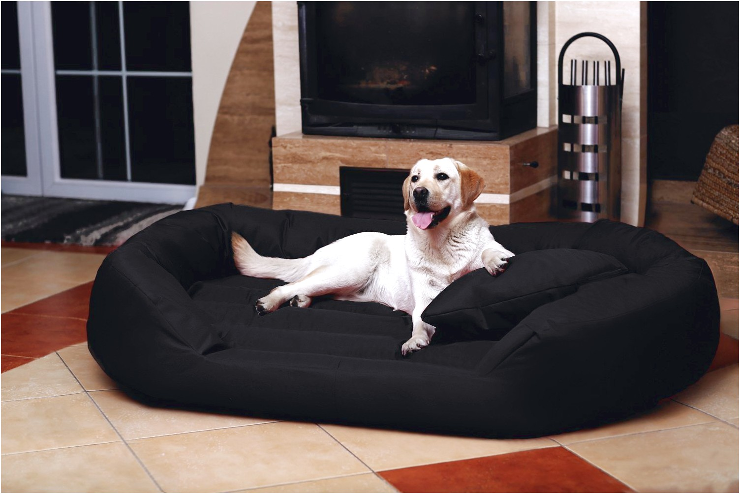how to make a dog bed for great dane