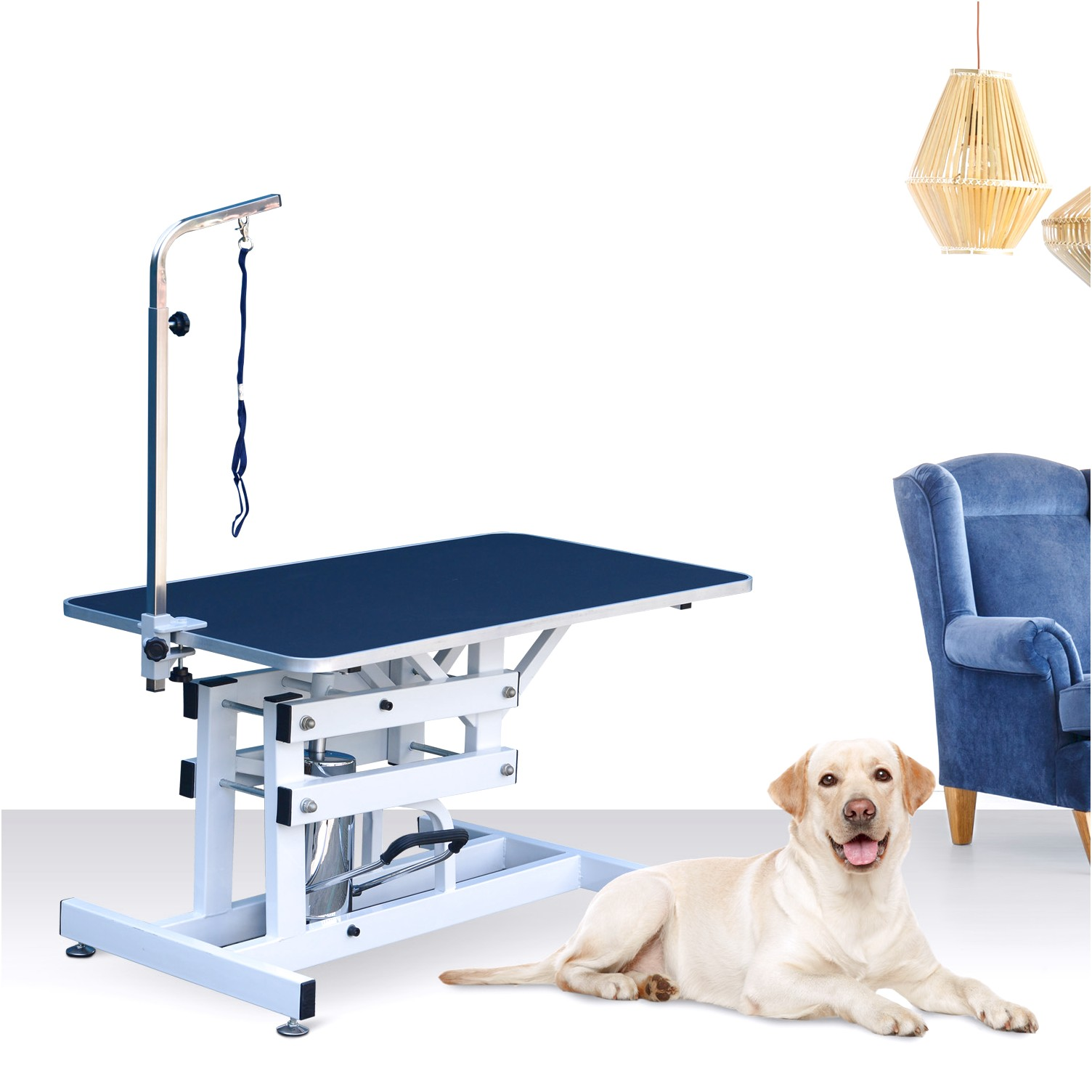 how to make a grooming table for dogs