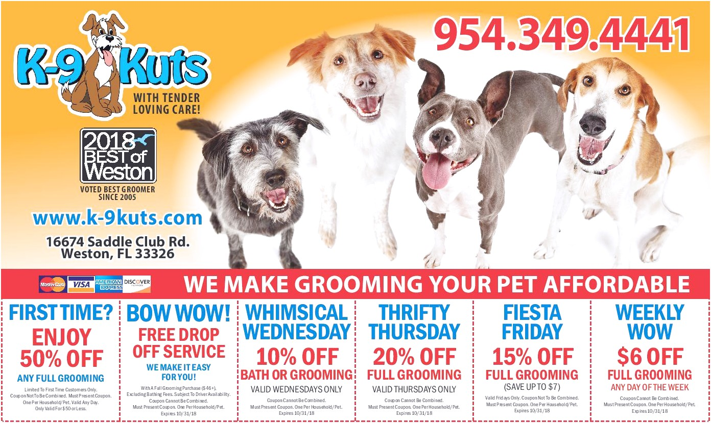 learn 2 groom dogs coupon