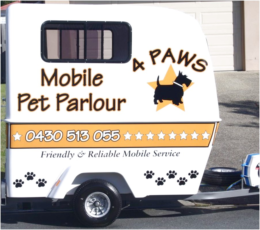 mobile dog grooming near helensvale
