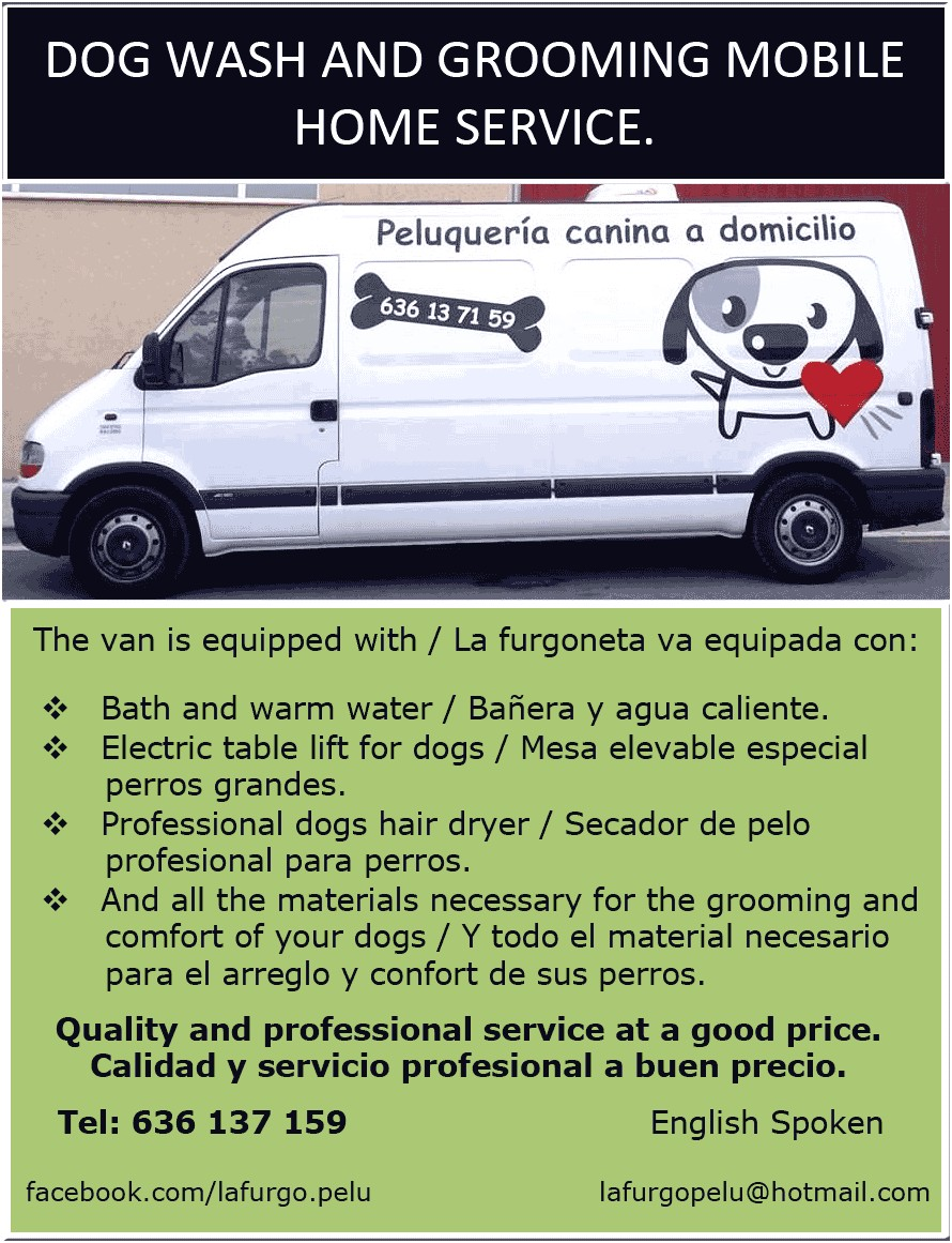 mobile dog grooming services near me