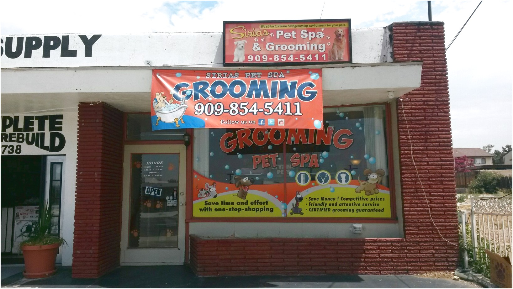 mobile pet grooming near fontana ca