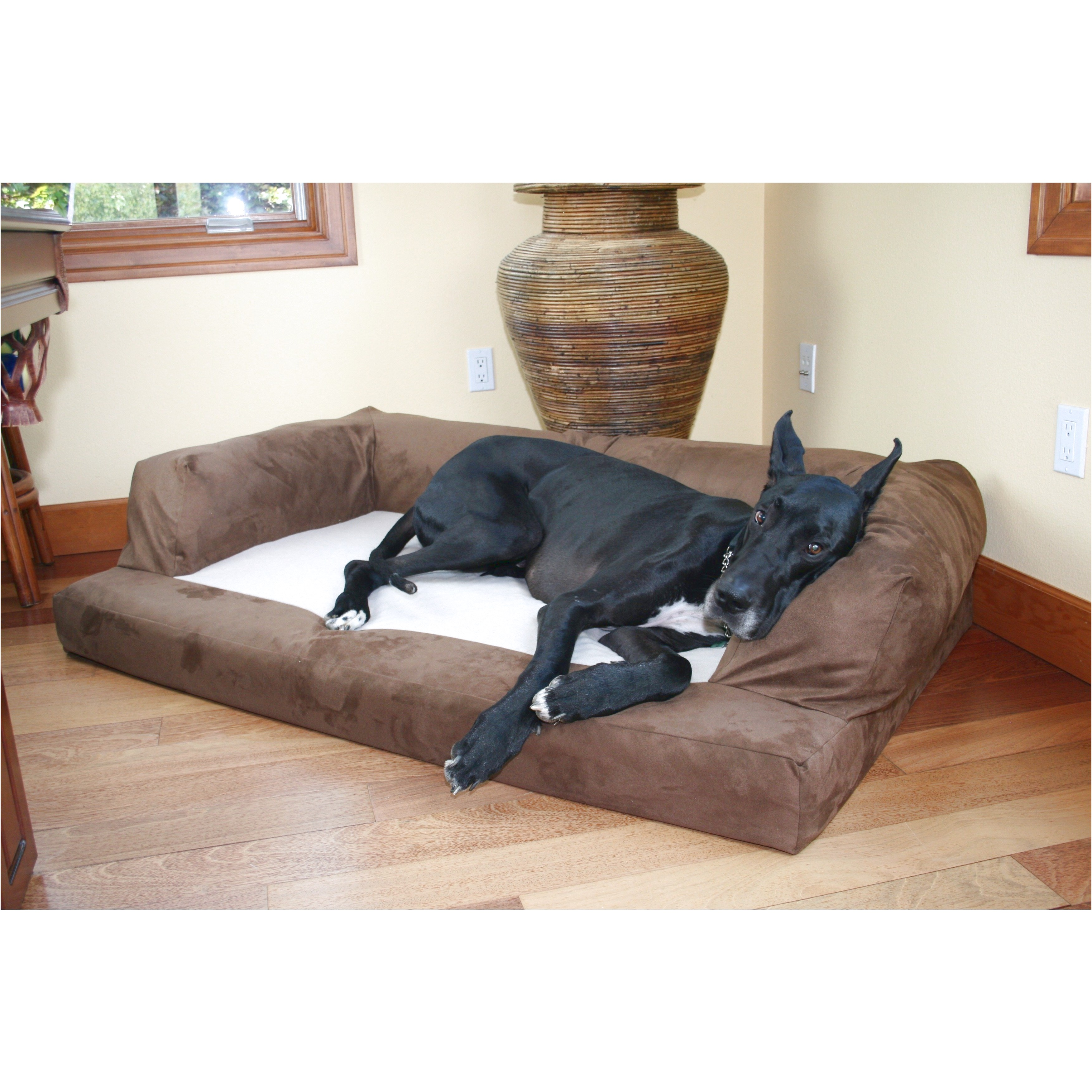 orthopedic dog beds for great danes