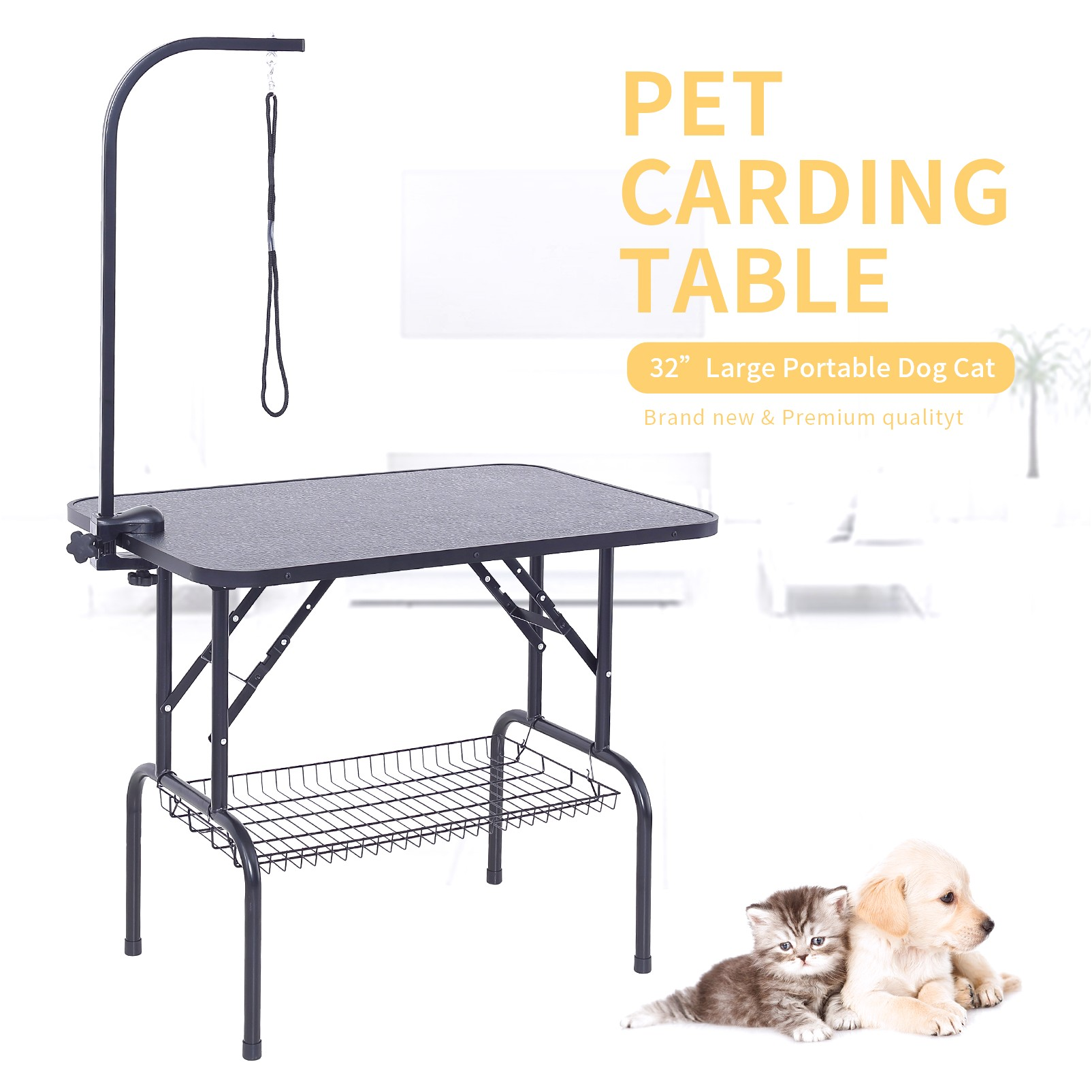 portable grooming table for large dogs