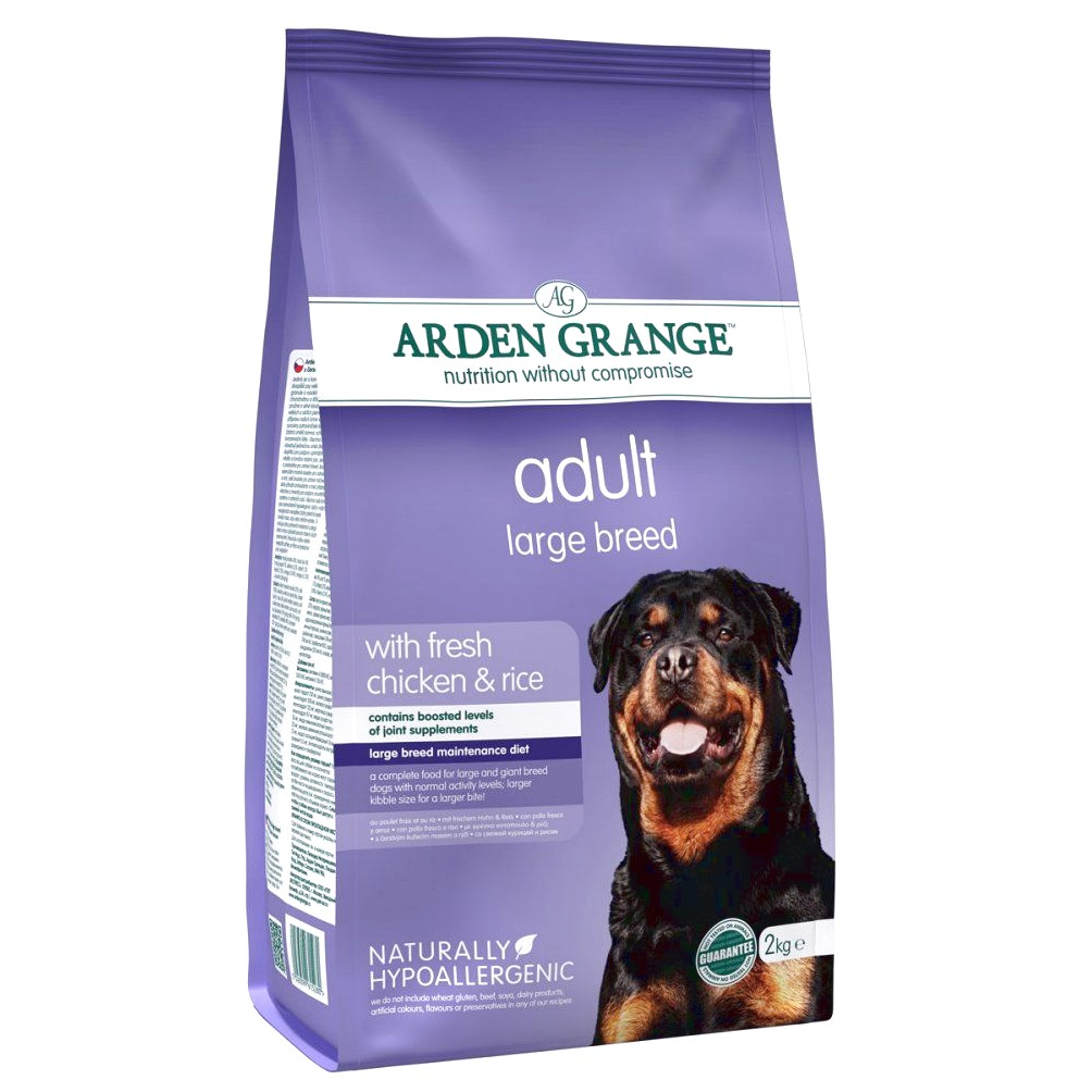 top rated dog food for large breed dogs