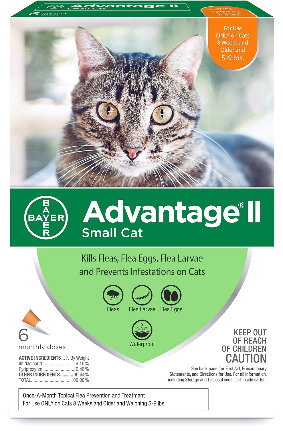 Advantage 11 For Cats