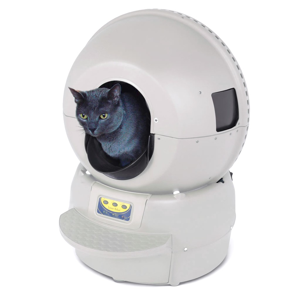 Auto Cat Litter Box Cleaner