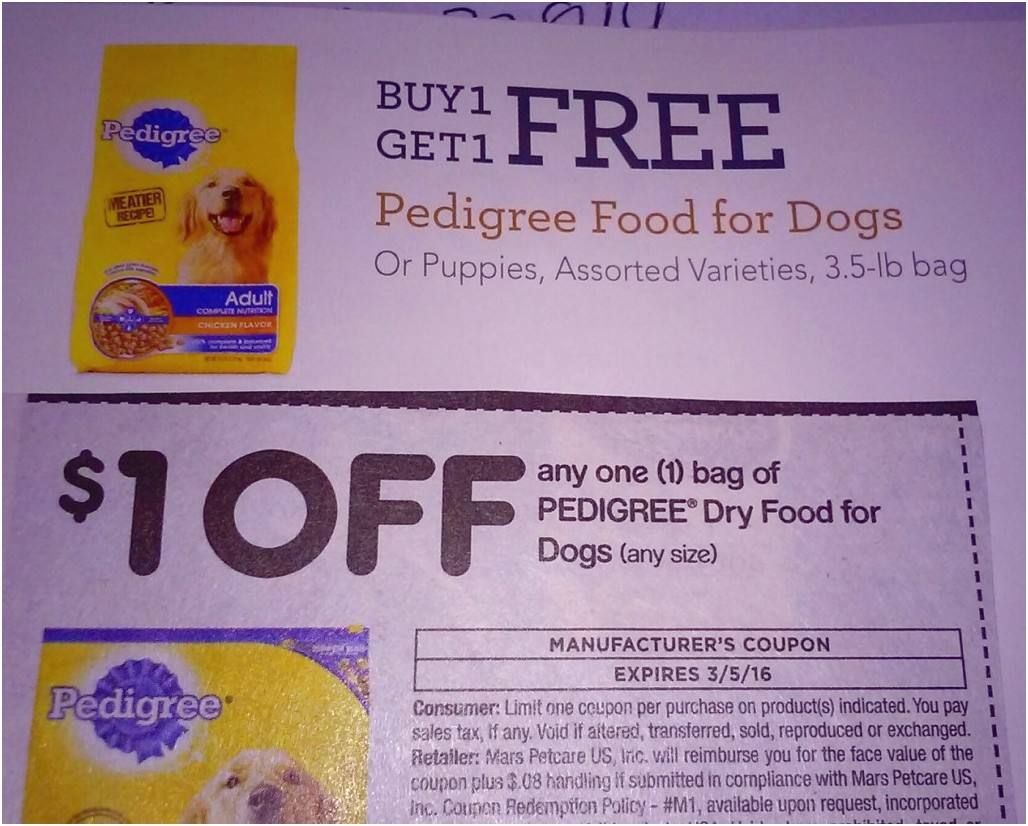 Blue Dog Food Coupon