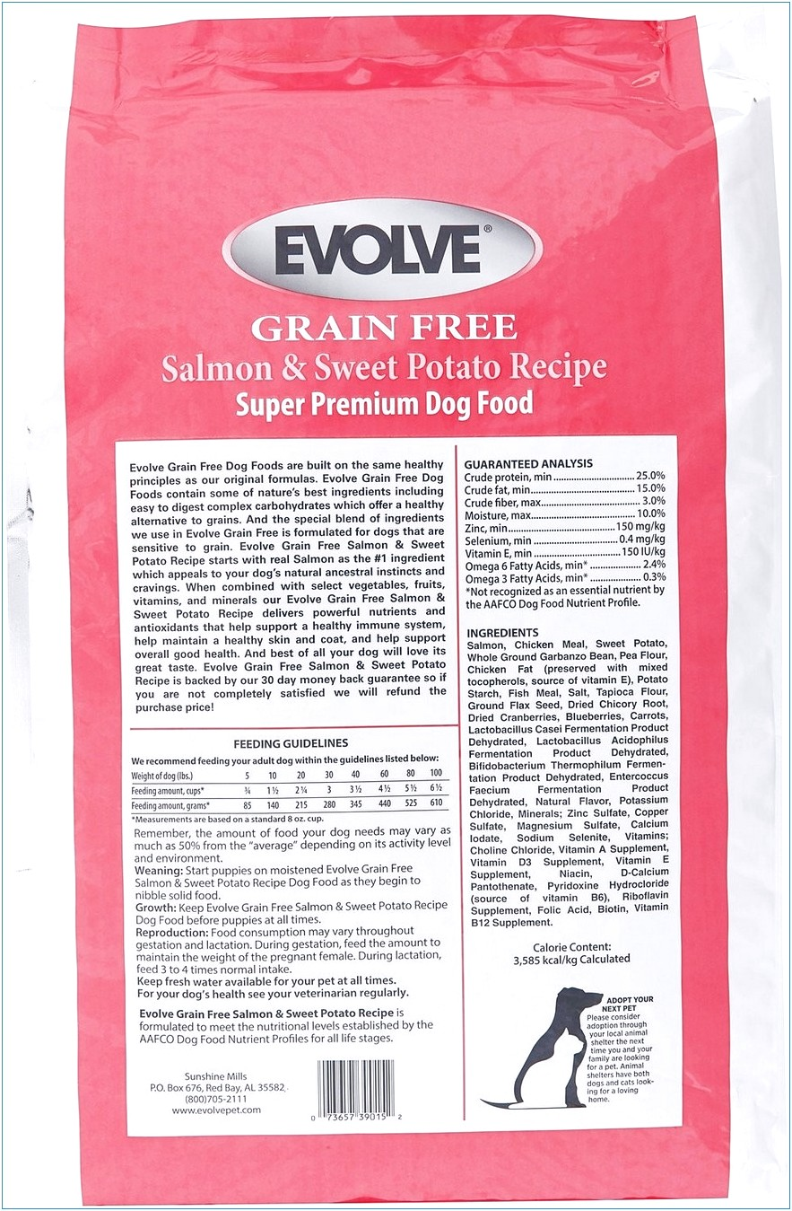 Evolve Dog Food Reviews