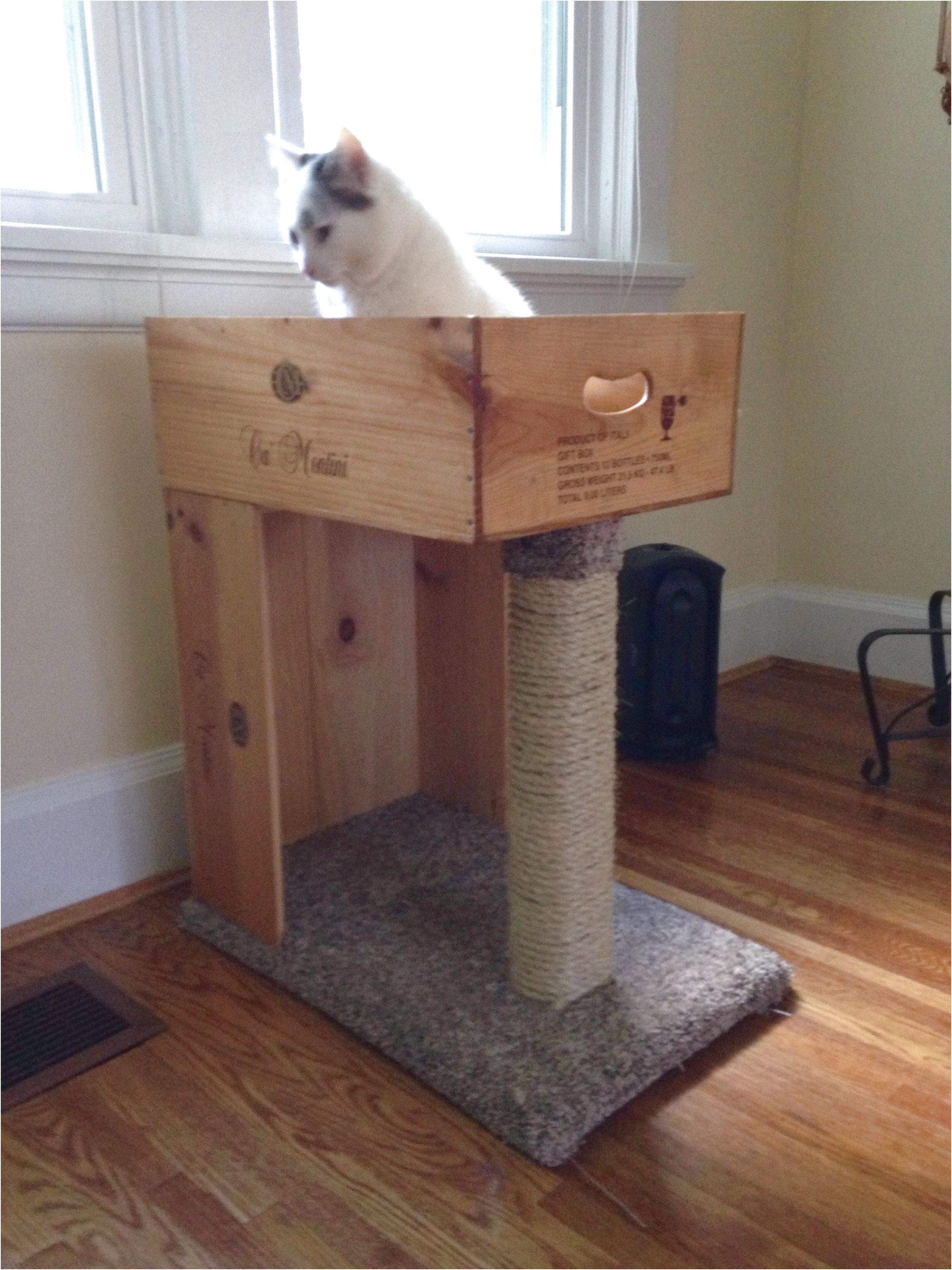 How To Make A Cat Scratching Post