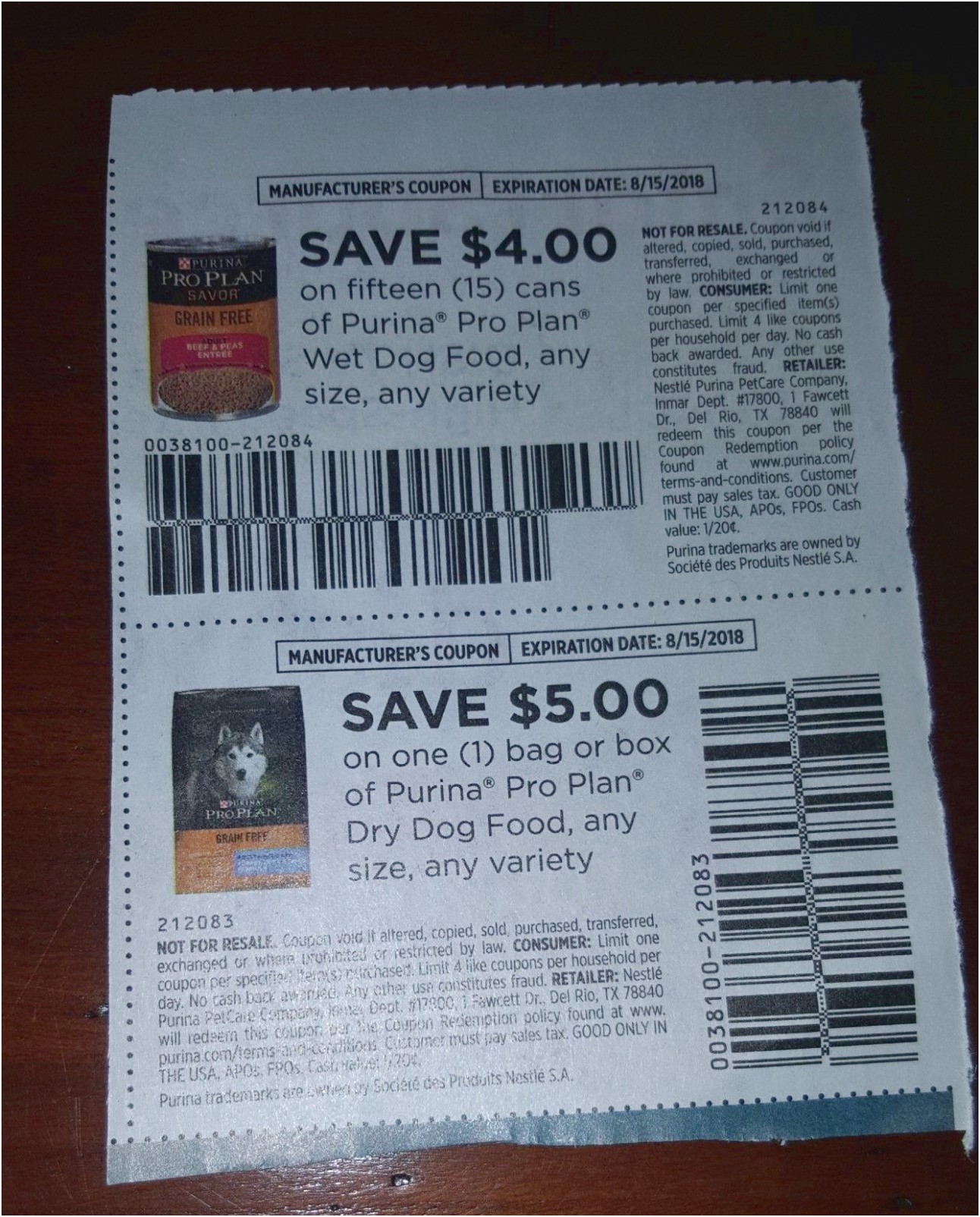 Pro Plan Dog Food Coupons