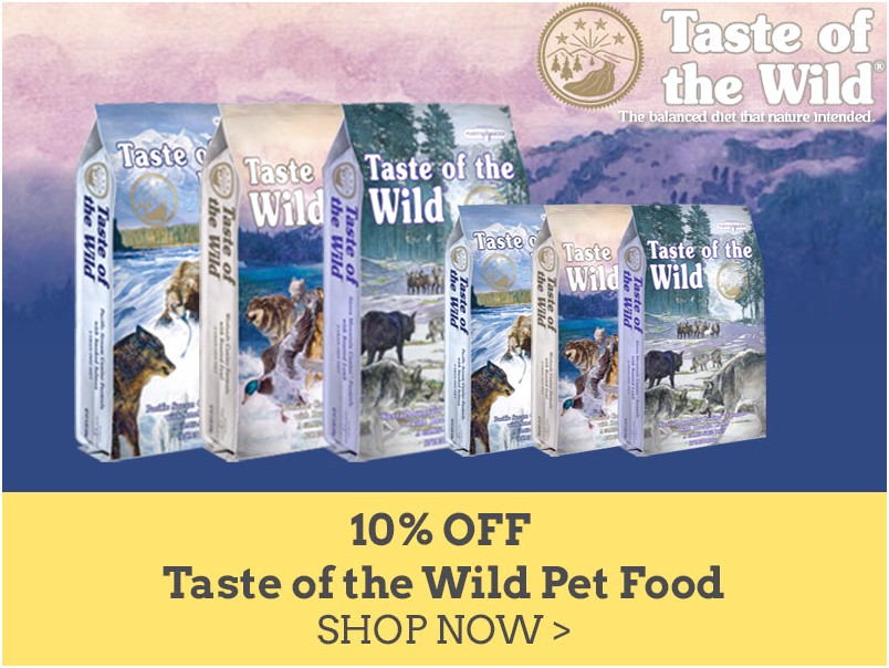 Taste Of The Wild Dog Food Coupons