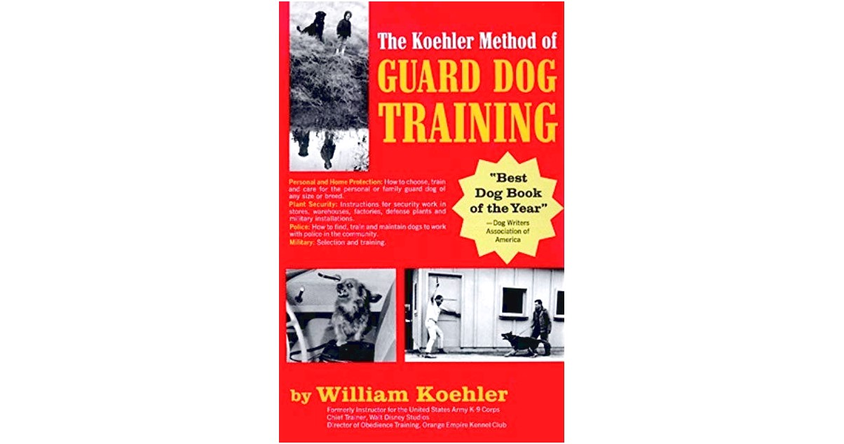best personal protection dog training books