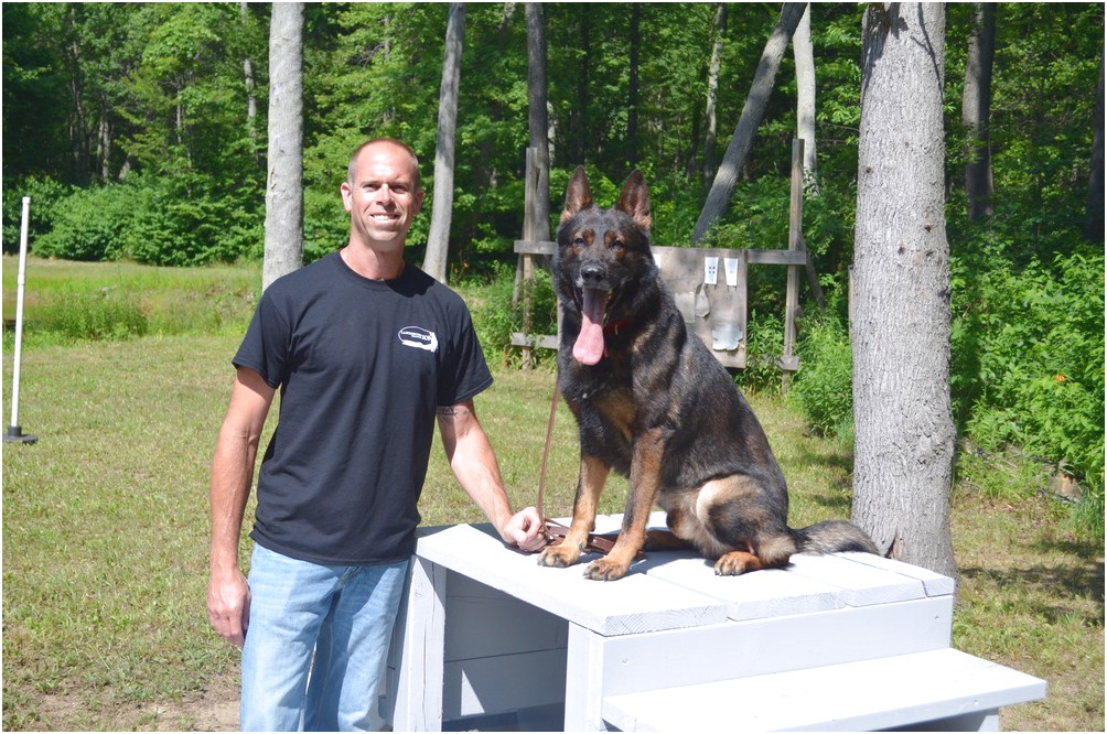 personal protection dog training michigan